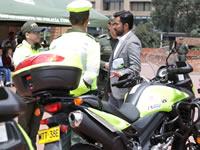 Moderno parque automotor refuerza la seguridad vial de Cundinamarca