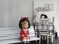 Mafalda visita Bogotá