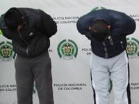 Cae pareja que utilizaba a sus hijos para vender droga en el parque de Soacha