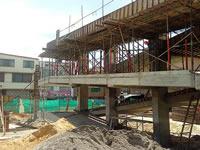 Cierres viales nocturnos por construcción de puente peatonal en Autopista Sur Soacha