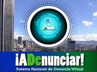 Policía Nacional  invita a utilizar  sistema virtual de denuncias