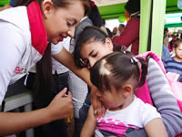 Cerca de 3 mil personas acudieron a la jornada de vacunación en Soacha