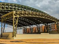En Soacha se construye nuevo escenario para promover la cultura y el deporte