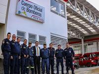 Después de año y medio de retraso, se entrega estación de bomberos de Soacha