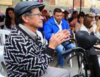 Cerca de $1.000 millones en equipamiento para personas mayores y/o con discapacidad