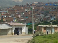 Con  panfletos intimidan a habitantes de la comuna 4 en Soacha