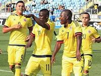 Selección Colombia sub 17 jugará el próximo lunes en Soacha