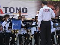 Banda Sinfónica de Soacha recibe Orden de la Democracia Simón Bolívar