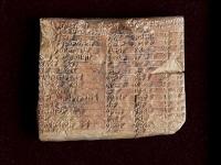 Fue encontrada una tabla de trigonometría de hace 3700 años