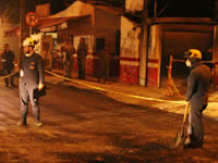 Alcaldía de Soacha supervisa obras en la comuna uno
