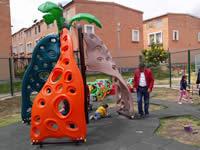 Parques infantiles de Soacha  son visitados por el alcalde González