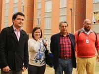 Viceministro de vivienda visita Soacha