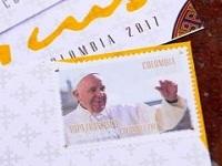 Más de 38.000 estampillas en homenaje al Papa Francisco durante su visita