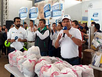 Departamento  ha entregado 61.218 paquetes alimentarios