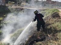 Soacha estuvo cobijada por incendios el fin de semana