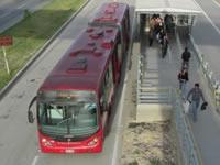 Ruta G43 de Transmilenio afectada por la visita del papa Francisco