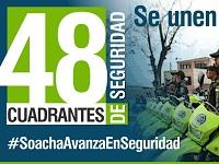Actualice el número telefónico  de los  cuadrantes de Policía de Soacha