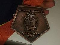 Joven esgrimista de Soacha gana bronce en torneo internacional