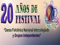 Con serenata de amor y amistad cerrará el 'XX Festival de Danza Folclórica Nacional Intercolegiado y Grupos Independientes'