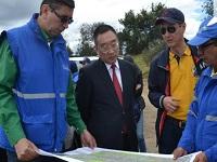 Ministro de Recursos Hídricos de China visitó Río Bogotá