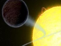 Descubren un planeta negro
