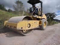 Hacen mantenimiento de vías rurales de Soacha
