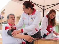 Avanza   brigada de salud y belleza promovida por la alcaldía en Ciudad Verde