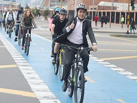 Llega la X Semana de la Bici a Bogotá