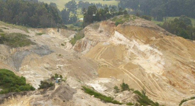 117 procesos sancionatorios por minería en Soacha