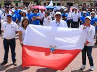 Avanza caminata por la paz con el apoyo de la alcaldía municipal