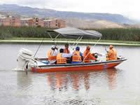 En el día del árbol, alcalde navega Humedal del Neuta