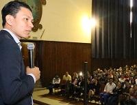 Yokoi Kenji dejó un mensaje de esperanza para la juventud de Soacha