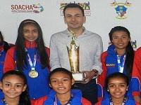 Equipo femenino de Soacha campeón en Festival Pony Baloncesto