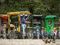Regularían los bicitaxis en Bogotá