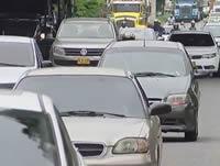 Trancones y congestión en la Autopista Sur, dolor de cabeza de los habitantes de Soacha
