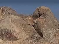 Enormes rocas  amenazan con aplastar viviendas en San Mateo Soacha