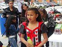 Comunales  celebraron el día de los disfraces  a los niños de Soacha