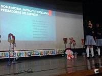 Estudiantes de  Nuevo Compartir  hablaron sobre la corrupción