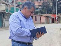 Alcalde de Soacha monitorea puntos críticos en la comuna cuatro