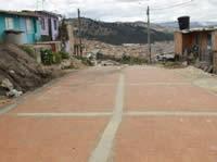 Avanzan  trabajos de adoquinamiento en la comuna cuatro  de Soacha