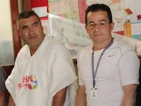Comunidad de Cazuca resalta obras de colectores
