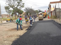 Avanza mejoramiento de las vías principales de Soacha