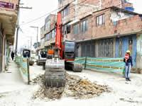 Alcaldía inicia construcción de alcantarillado en la comuna tres