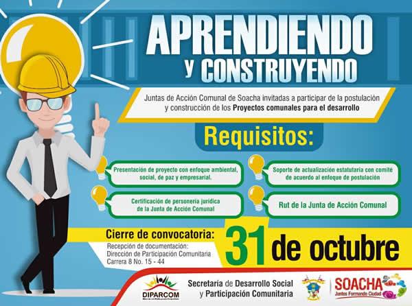 Alcaldía invita a postular proyectos sociales