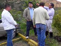 Alcalde de Soacha recorre zonas mineras del municipio