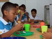 Estudiantes  de Soacha vuelven a recibir alimentación escolar