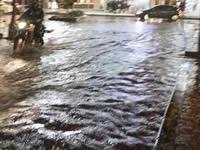 Inundaciones en Soacha por fuertes lluvias