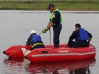 Se reanuda búsqueda de niños que cayeron a laguna del Muña en Sibaté