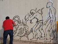 Muralistas de Soacha podrán participar en beca de arte urbano