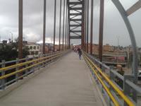 Secretaría de Infraestructura responde a denuncias sobre puente Camilo Torres